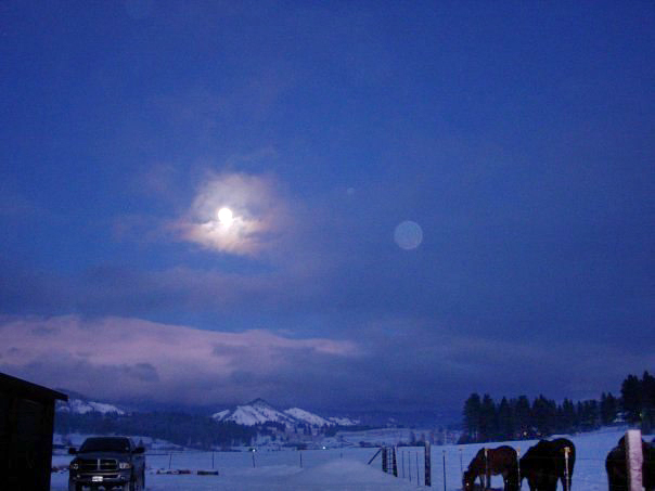 Midnight in the Teanaway Valley